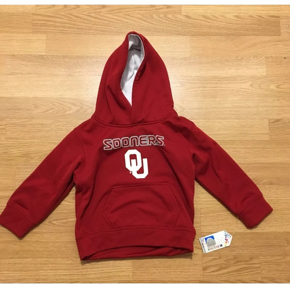 Colosseum Other - OKLAHOMA SOONERS Small (4) Hooded Sweatshirt